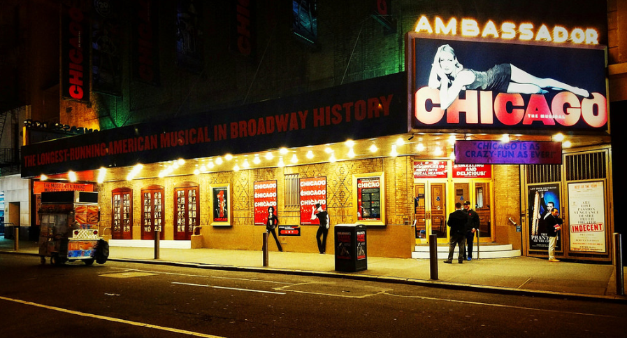 musical chicago en broadway